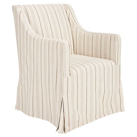 Suzie Linen Slipcover Chair Cream 415 00 Beige Living