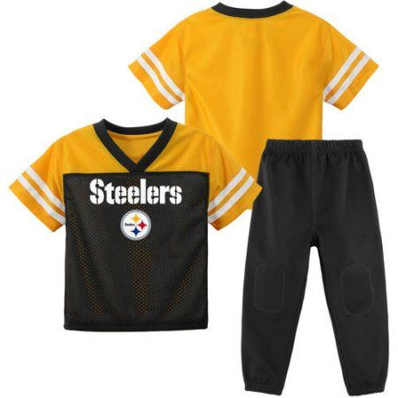 timeless design 2ab1b 42223 NFL Pitssburgh Steelers Toddler Short Sleeve Top and Pant ...