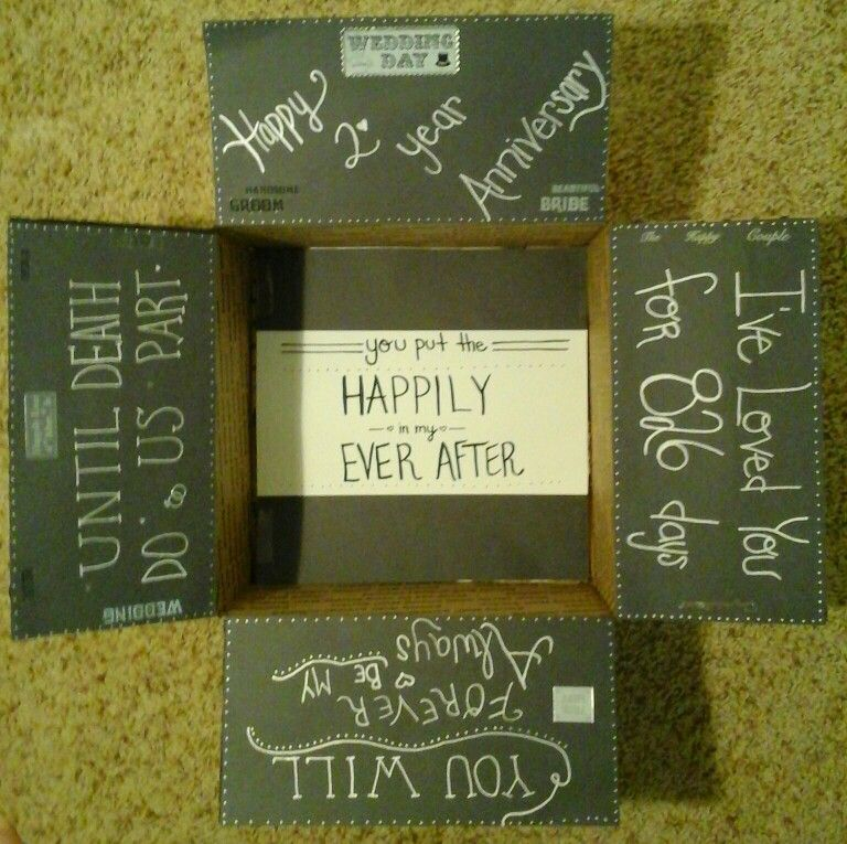63491687e1da The 4th one ive made..Our wedding anniversary care package