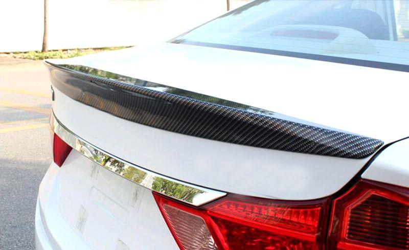 For Honda City 2014 2015 2016 Carbon Fiber Style Rear Boot Trunk Spoiler Wing Exterior Car Parts 1pcs Affiliate Honda City Exterior Accessories Carbon Fiber