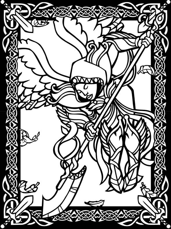 Pin On Fantastical Coloring Pages