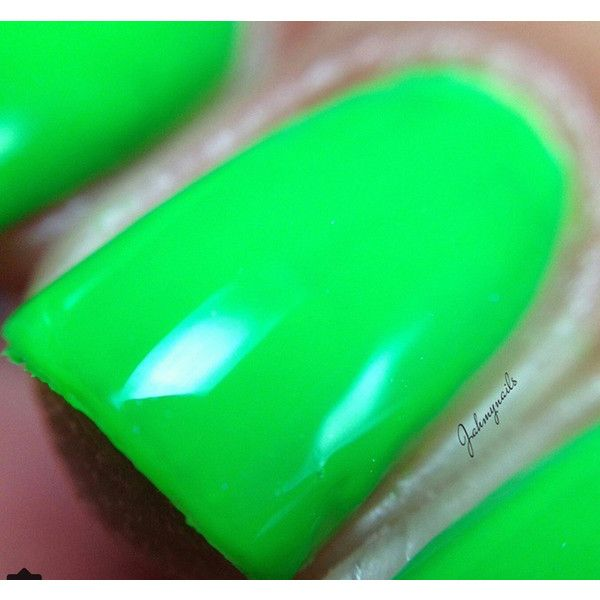FLUORESCENT NEON GREEN Pigment for Indie Nail Polish, Supplies Arts ...