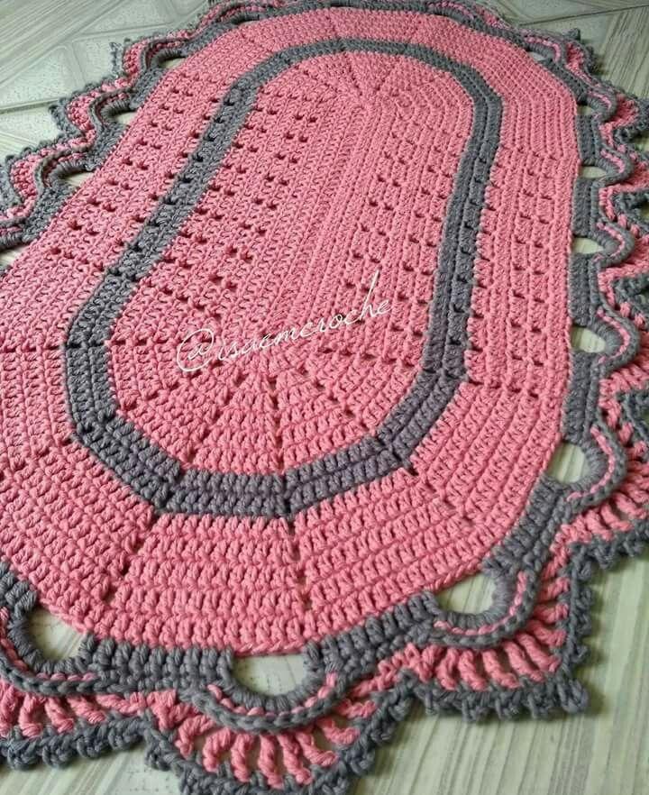 вязания коврик видео бесплатно