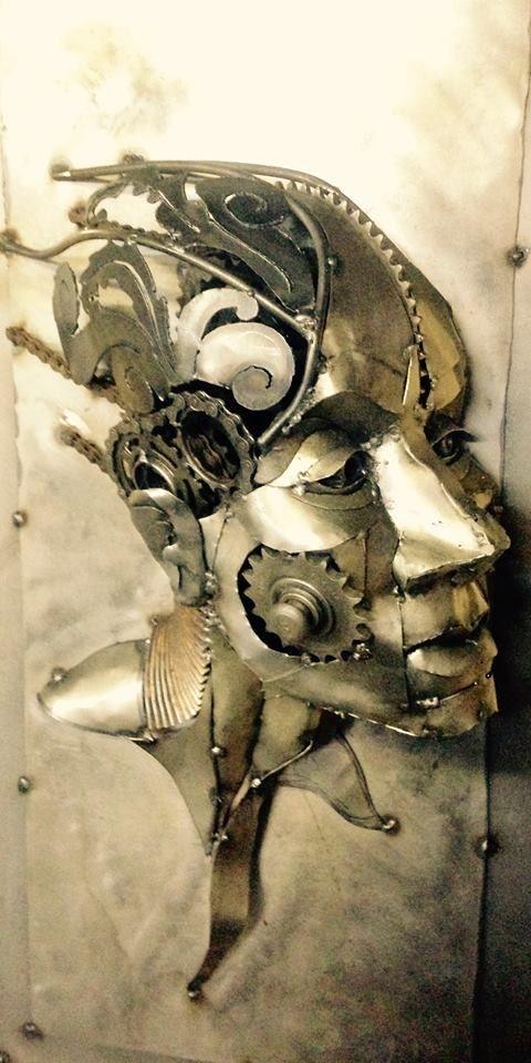 Joel Sullivan Welding Art Scrap Metal Art Metal Art