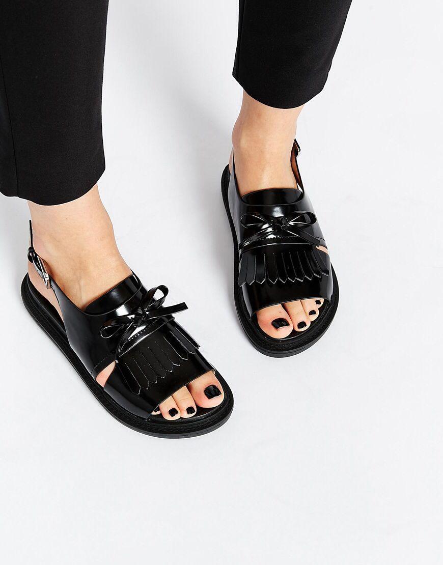 FANYA – Sandalen mit Fransen | Schuh stiefel, Sandalen und
