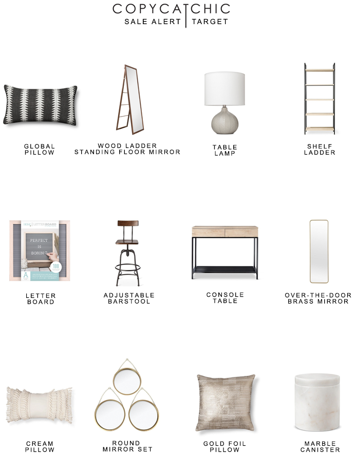 Target Home Sale Up To 40 Off All Home Decor And Furnishings Copycatchic Luxe Living For Less