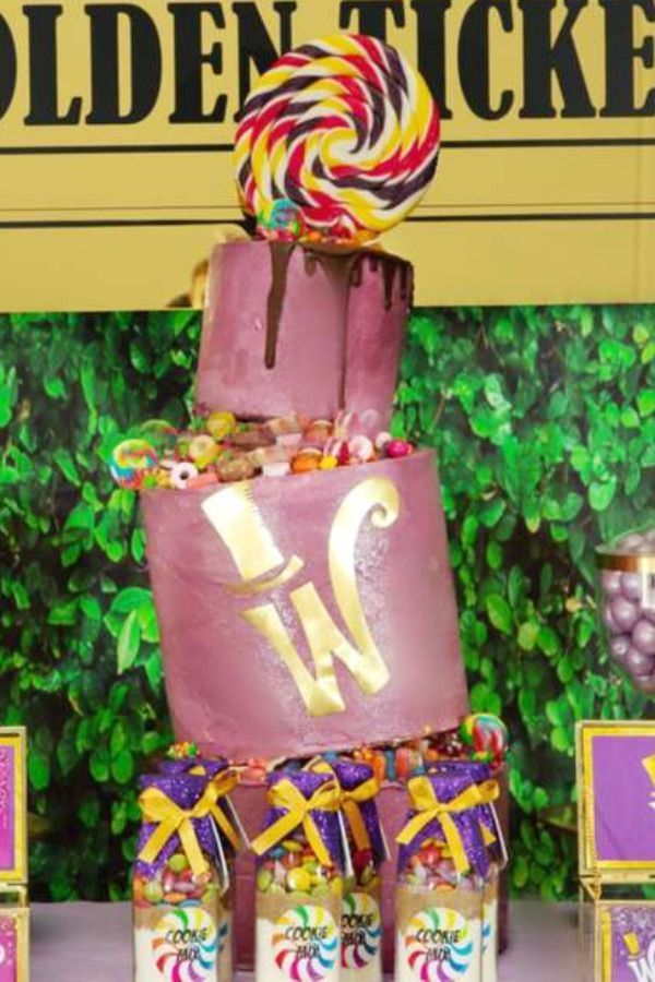 willy wonka theme printed backdrop wonka birthday backdrop birthday wonka banner decorations party birthday decoration chocolate background