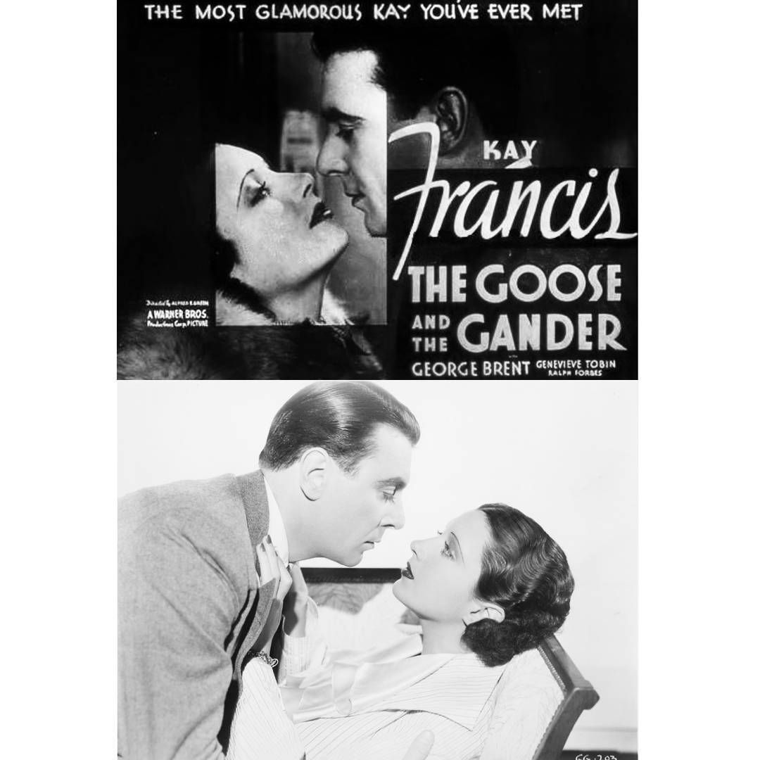 Kay Francis George Brent in The Goose and The Gander 1935