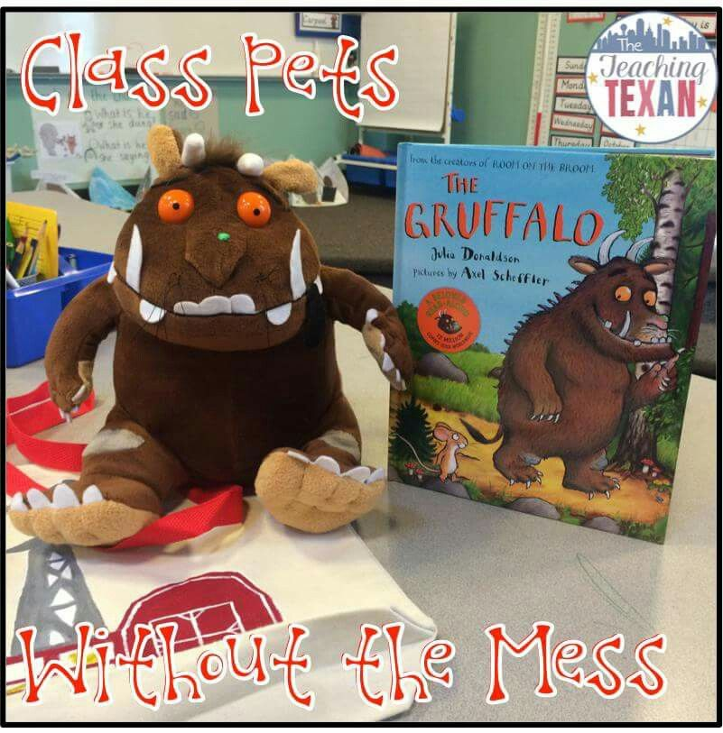 """Students take home """"class pet"""" and document their adventure over the weekend with pictures and a journal entry."""