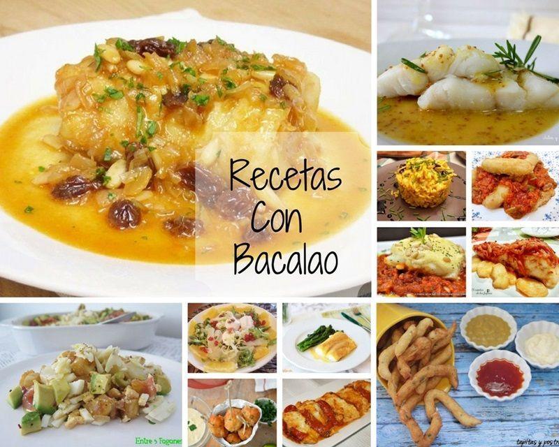Recetas con Bacalao, fáciles y deliciosas