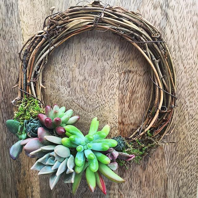 The possibilities are endless with the gorgeous mini wreath! Stay tuned for…