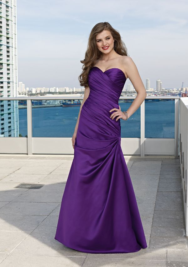 Purple Bridesmaid dresses... we liked! (rePinned083113TLK) | Fashion ...