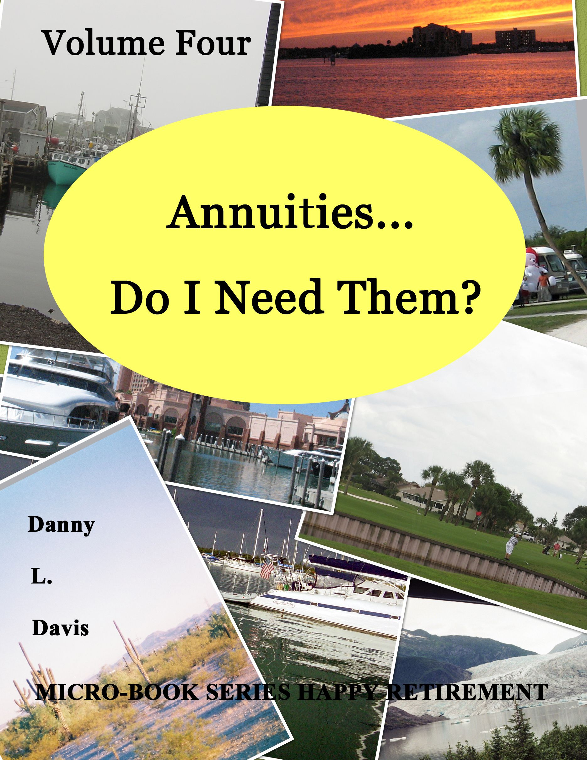 Annuities are a devilish conundrum faced by most investors. This Micro Book describes the way to determine, if they can be of benefit to you. These insurance products are only partially a financial investment. The Micro Book describes the two types of annuities, and how they are presented as many different solutions to your two basic needs: income and wealth creation. www.dannyldavis.com