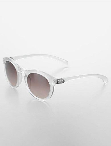 3e6534a68 calvin klein jeans round frame sunglasses | Calvin Klein | Oh Gush ...