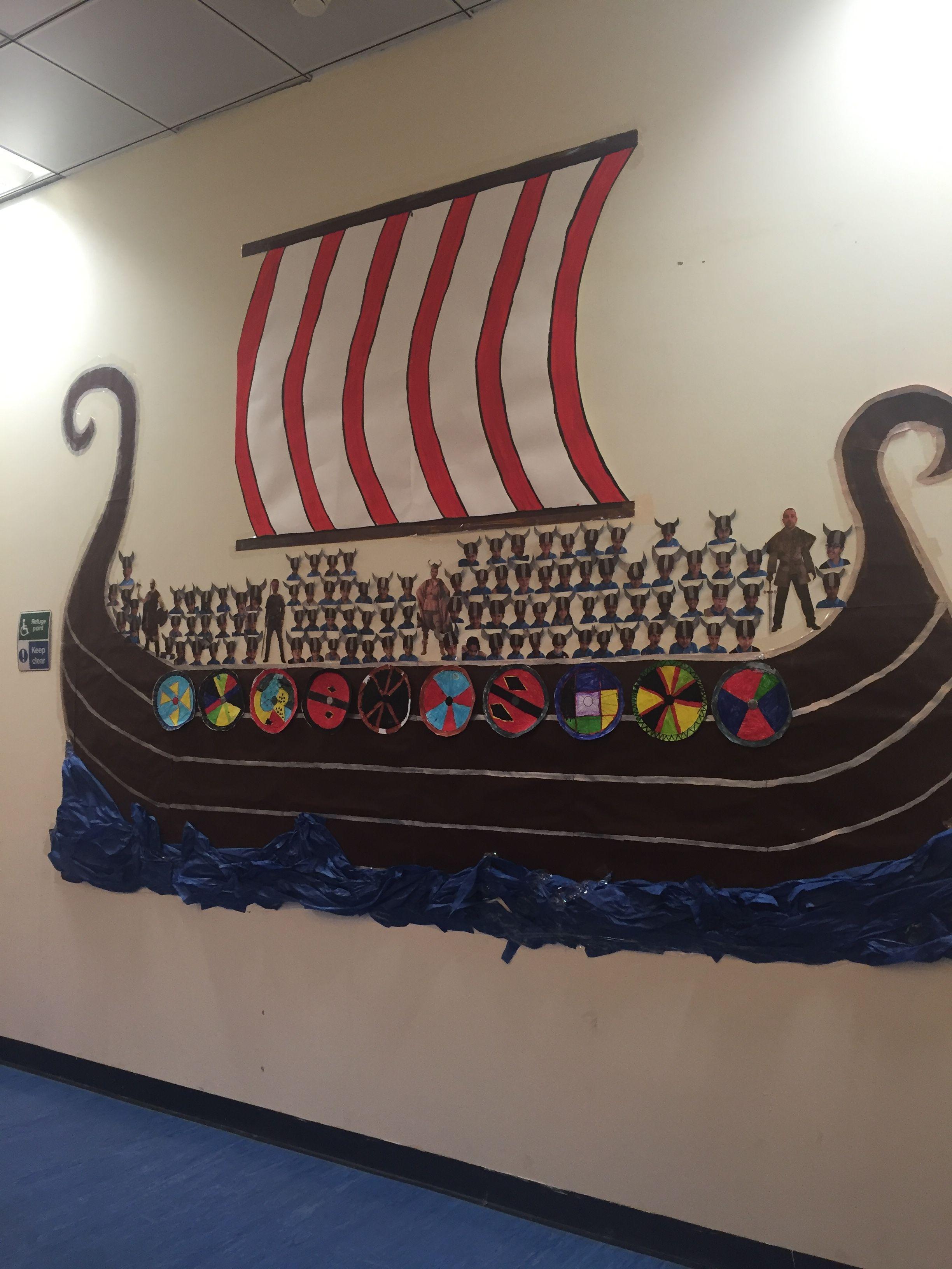 Viking Boat Display Viking