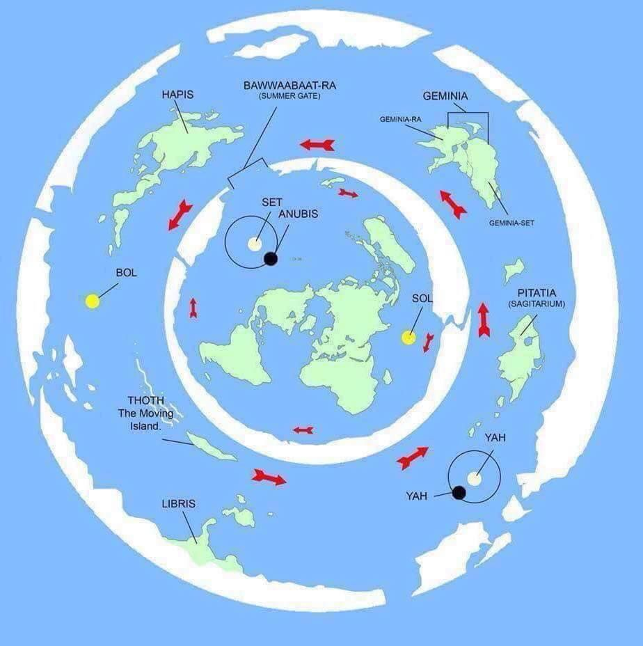 New Flat Earth Map.Lost Tribes Re Legend Pinterest Flat Earth Flat Earth