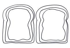 Bread And Jam Coloring Page