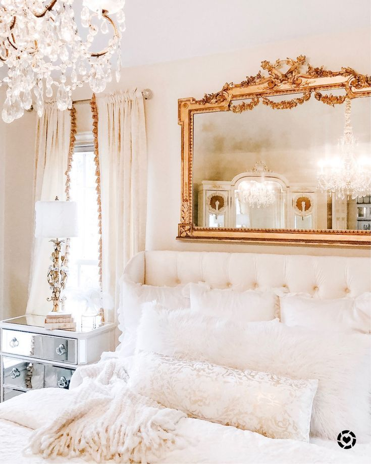 Faux Fur Mongolian Pillow Covers in 2020 | Glam bedroom, Decor, White bedding