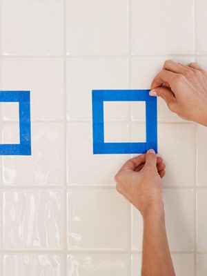 up a bland bathroom painting bathroom tiles and paint ceramic tiles