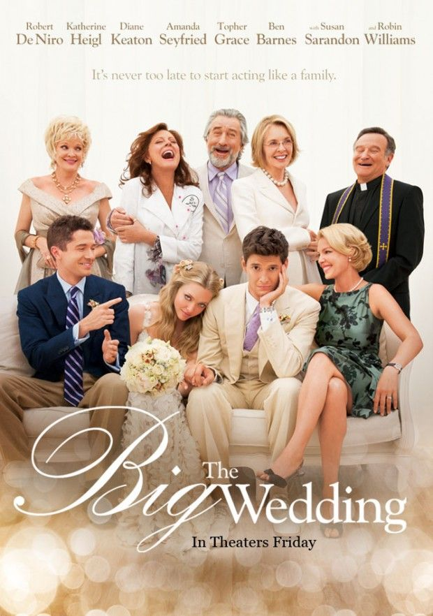 The Big Wedding opens today!