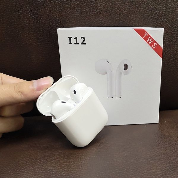 I12 TWS Earbuds Bluetooth 5 0 True Wireless Headphones Mini Touch