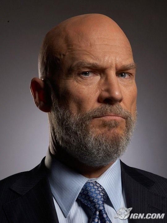 Bald Villains With Beards
