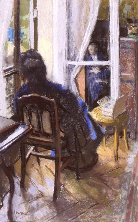 A la Fenetre-Edouard Vuillard