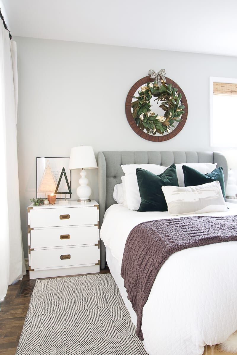 How to Decorate your Bedroom for the Holidays | Home decor ...