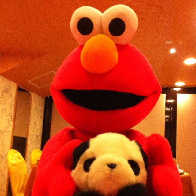 Elmo & Panda