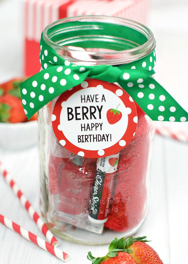 Berry Gift Idea For Friends Or Teachers Best Of