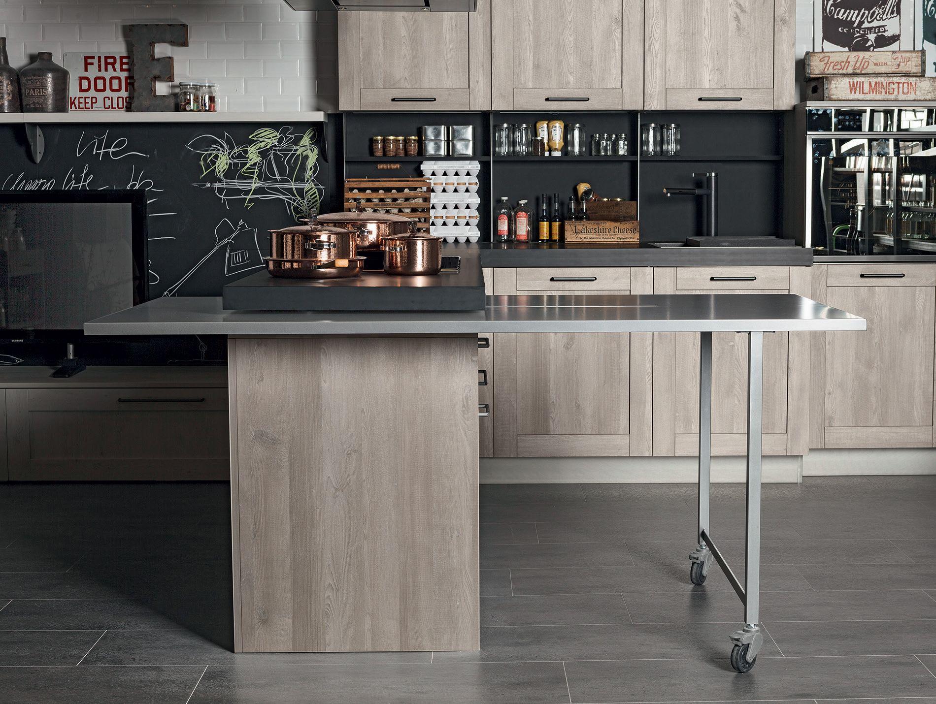 Dettaglio Cucina Moderna Stosa Modello Cucina City 01