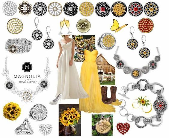 Spring Wedding, Yellow Bridesmaid, Snap Jewelry, Bridesmaid Gifts, Bridal Shower Idea, Earn Free Bridal Gifts