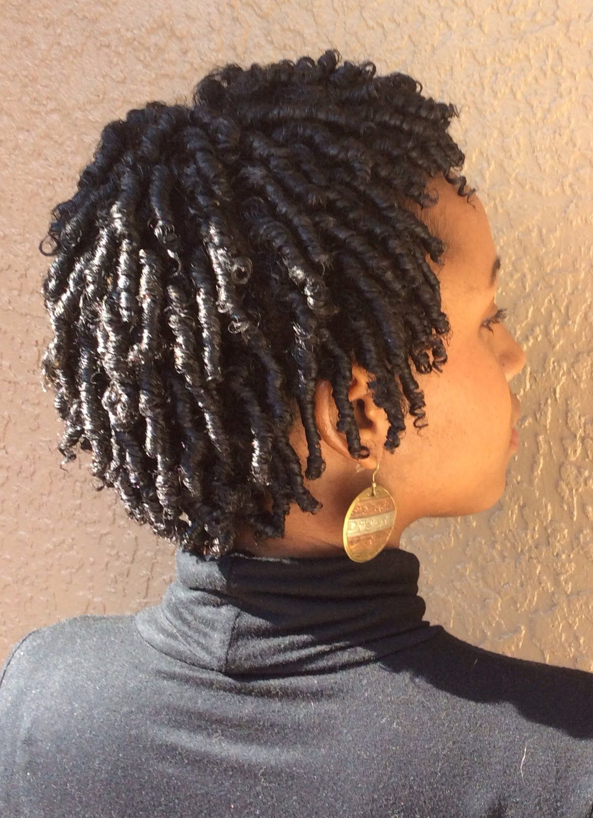 natural hair  my finger coil technique   natural hair styles