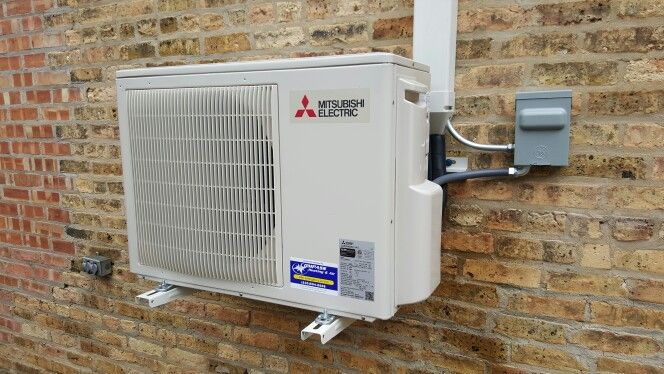 P series commercial ductless mini split air conditioner for Small heating systems