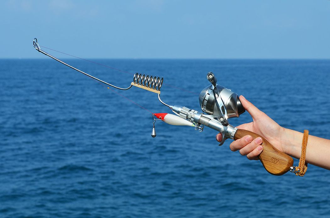 The Swiss Army Knife of Fishing Rods | Yanko Design