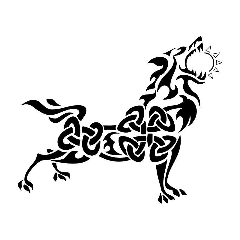 Fenrir wolf symbol - photo#45