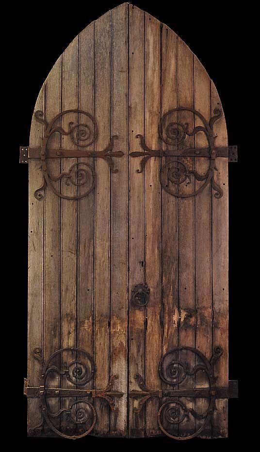 Old english castle doors.   doors   Pinterest   Castle doors ...