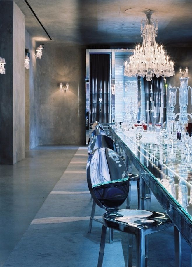Cristal Room Baccarat Paris Philippe Starck With Images Interior Decor Crystal Room