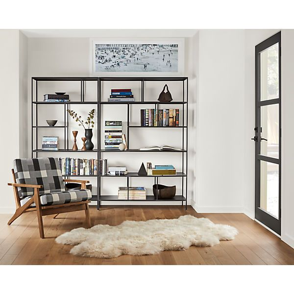 Room And Board Furniture Minneapolis: Foshay Bookcases In Natural Steel In 2019