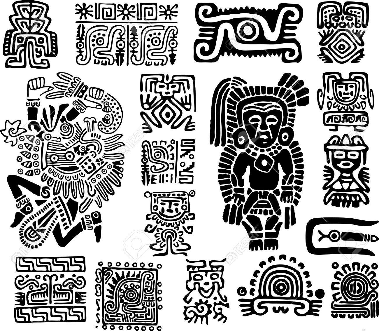 maya symbols - Google keresés | jewellery | Pinterest ...