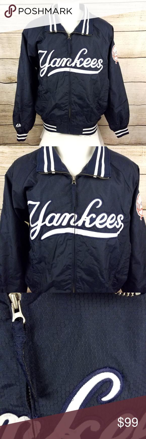 Majestic New York Yankees Jacket Large Jackets New York Yankees Yankees