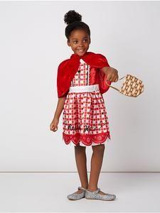 Girls Fancy Dress Little Red Riding Hood Fancy Dress Costume u2013 Novelty-Characters  sc 1 st  Pinterest & Girls Fancy Dress: Little Red Riding Hood Fancy Dress Costume ...