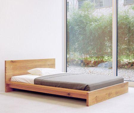 Architectural Bed Frames | Camas, Decoración zen y Juegos de dormitorio