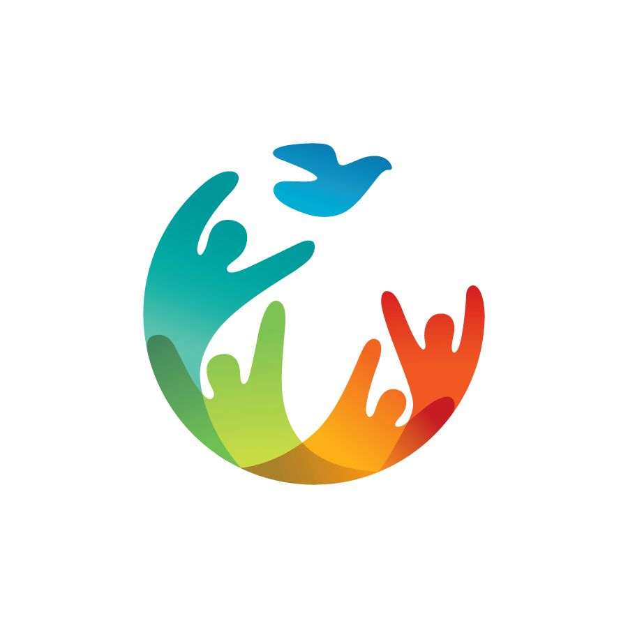 People Logo Design By Dot Creative Studio Featured In Logolounge Book 11 Logos Logo People Bird Co Logo Design People Charity Logos Logo Design Creative