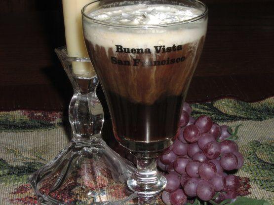 Irish Coffee from the Buena Vista San Francisco   Recipe ...