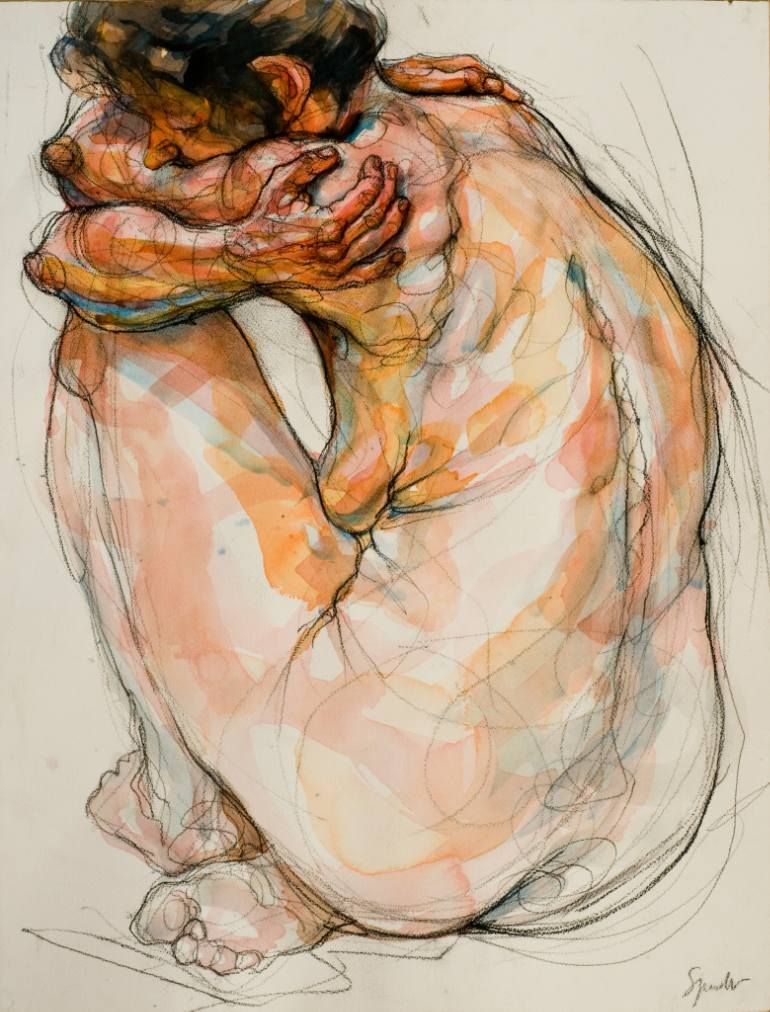 Yolande Painting By Sylvie Guillot In Sylvie Guillot - Ibs paint