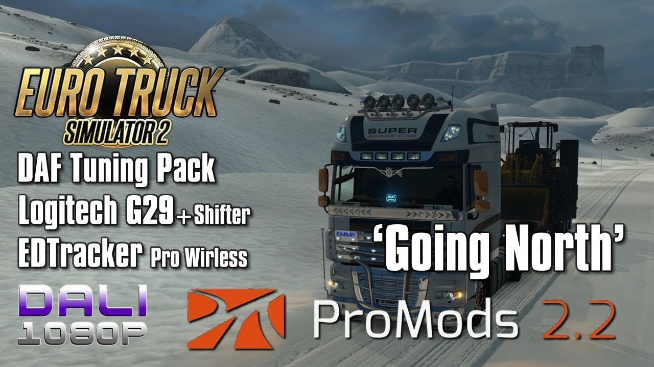 c78068bfa34 I'm heading north from Rovaniemi, Finland to Hiorthhamn, Norway on the  newest update of ProMods 2.2 for Euro Truck Simulator 2 using the Logitech  G29 wheel ...