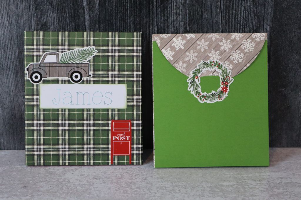 Cricut tutorial large gift card holder in 2020 gift