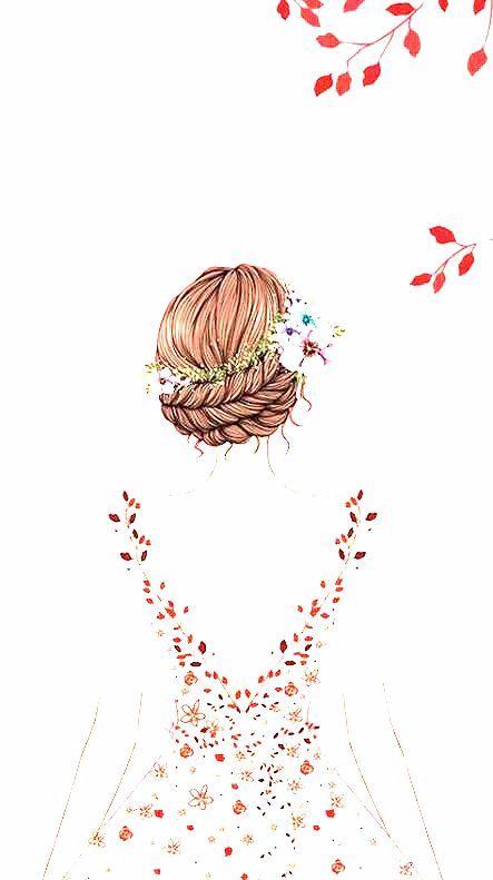 Photo of 18+ Ideas flowers girl illustration paintings