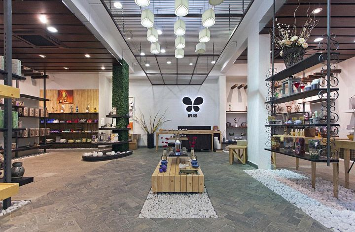 home shop design. IRIS store by Bangalore India home decor 4D  interior retail shop